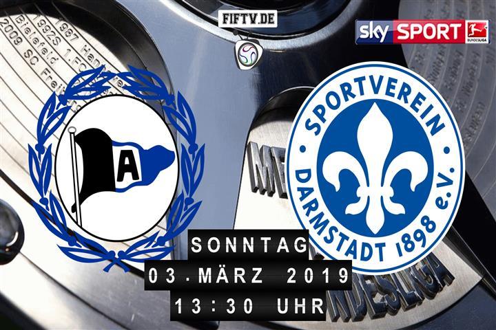 Arminia Bielefeld - Darmstadt 98 Spielankündigung