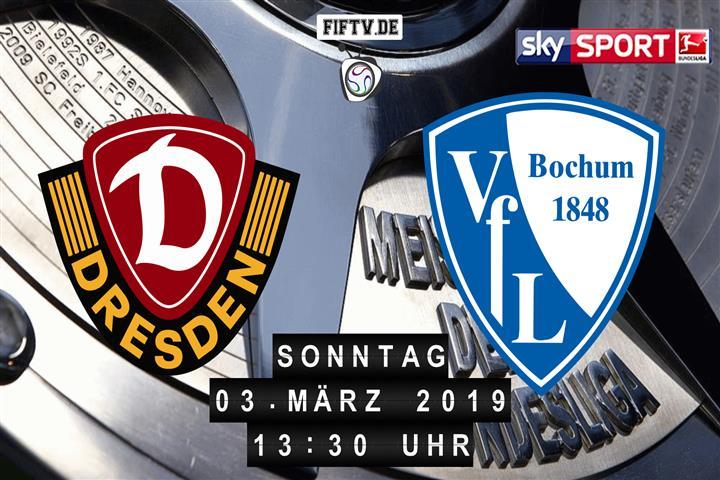Dynamo Dresden - VfL Bochum Spielankündigung