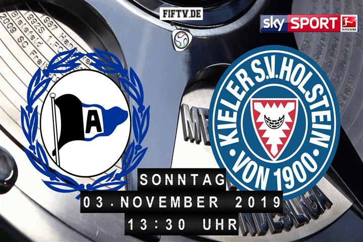 Arminia Bielefeld - Holstein Kiel Spielankündigung