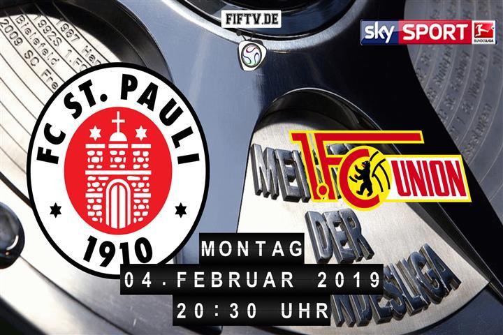 FC St. Pauli - Union Berlin Spielankündigung