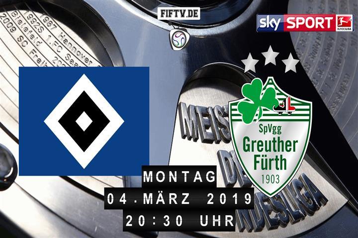 Hamburger SV - SpVgg Greuther Fürth Spielankündigung