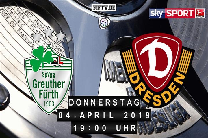 SpVgg Greuther Fürth - Dynamo Dresden Spielankündigung