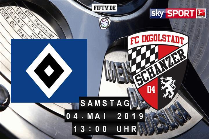 Hamburger SV - FC Ingolstadt Spielankündigung