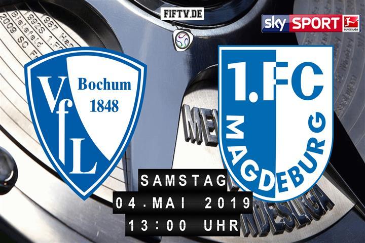 VfL Bochum - 1.FC Magdeburg Spielankündigung