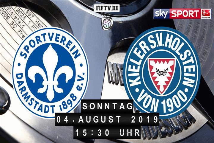 Darmstadt 98 - Holstein Kiel Spielankündigung