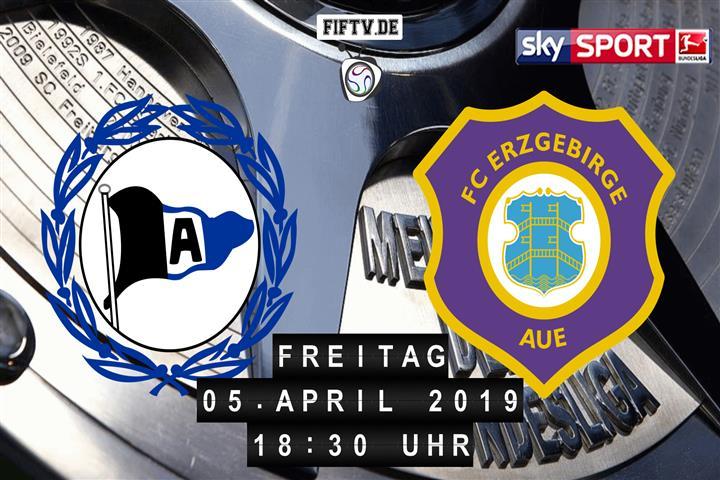 Arminia Bielefeld - Erzgebirge Aue Spielankündigung