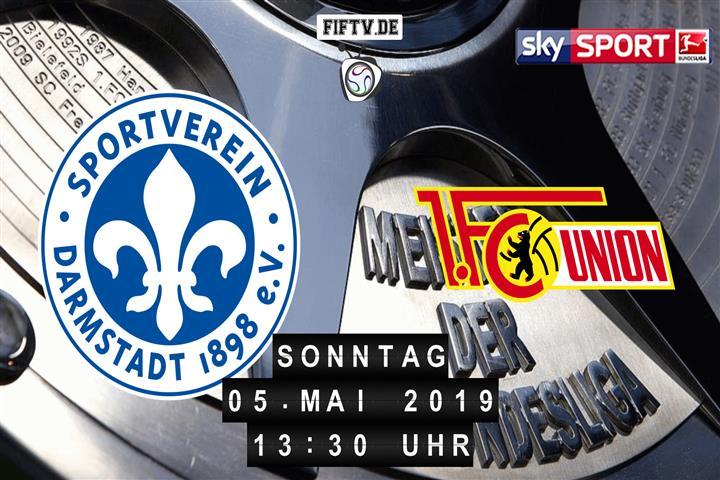 Darmstadt 98 - Union Berlin Spielankündigung