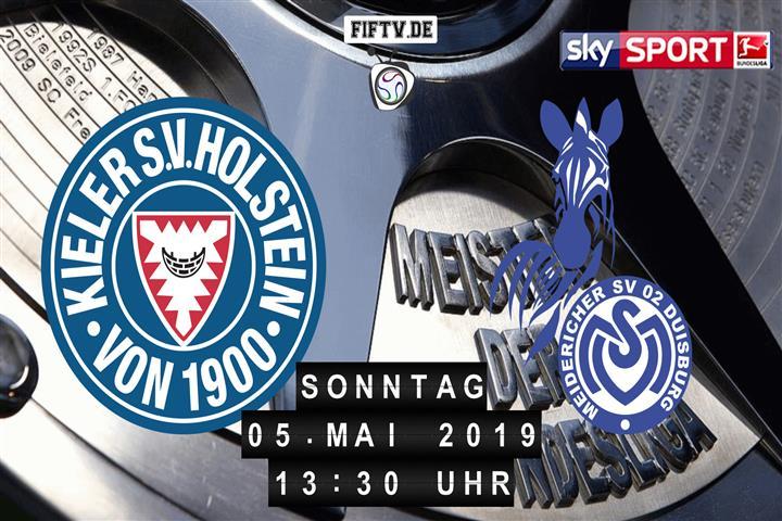 Holstein Kiel - MSV Duisburg Spielankündigung