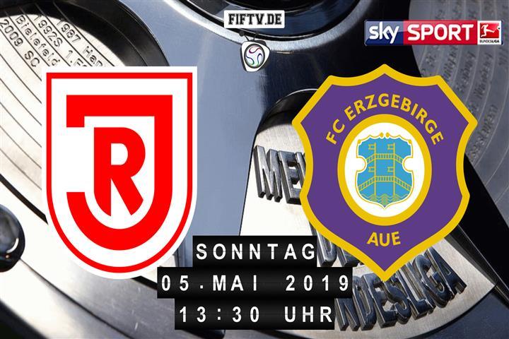 Jahn Regensburg - Erzgebirge Aue Spielankündigung