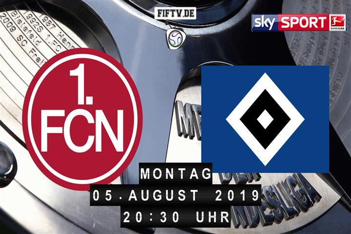 1.FC Nürnberg - Hamburger SV Spielankündigung