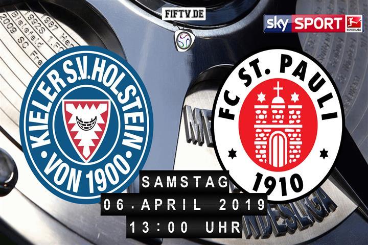 Holstein Kiel - FC St. Pauli Spielankündigung