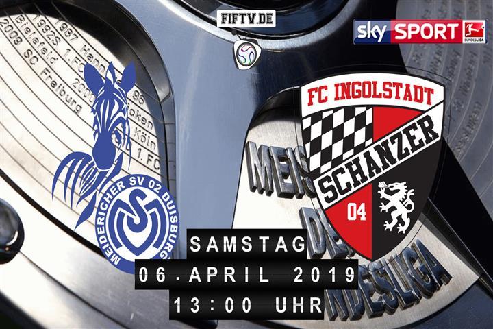 MSV Duisburg - FC Ingolstadt Spielankündigung