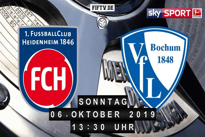 1.FC Heidenheim - VfL Bochum Spielankündigung