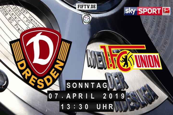 Dynamo Dresden Union Berlin Fußball Live Im Tv