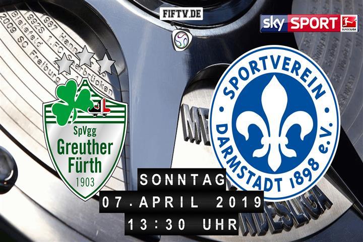 SpVgg Greuther Fürth - Darmstadt 98 Spielankündigung