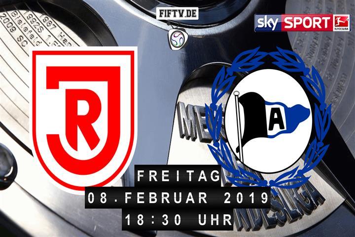 Jahn Regensburg - Arminia Bielefeld Spielankündigung