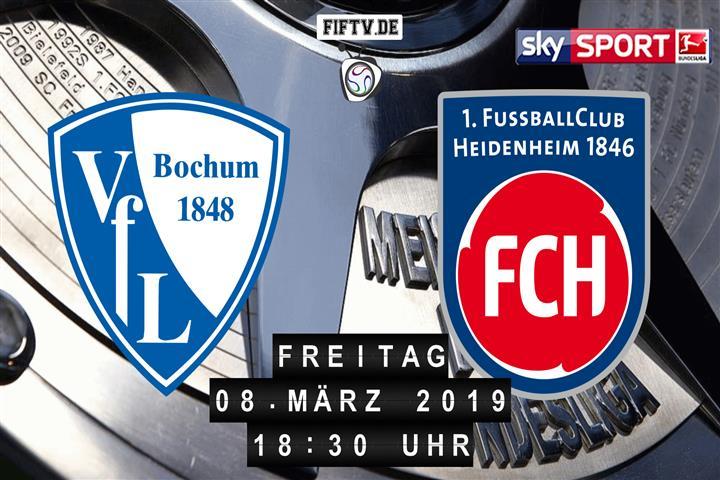 VfL Bochum - 1.FC Heidenheim Spielankündigung