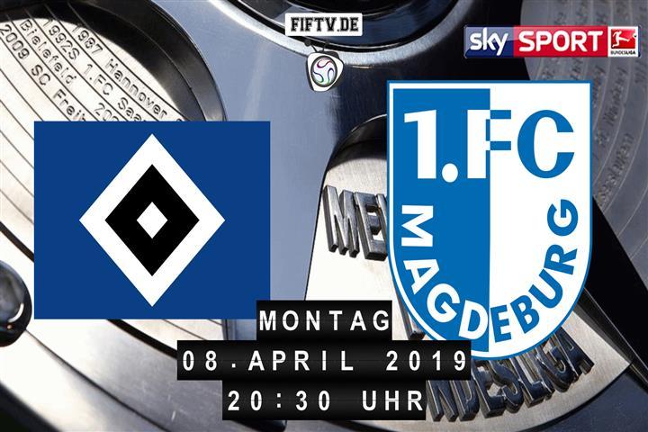 Hamburger SV - 1.FC Magdeburg Spielankündigung