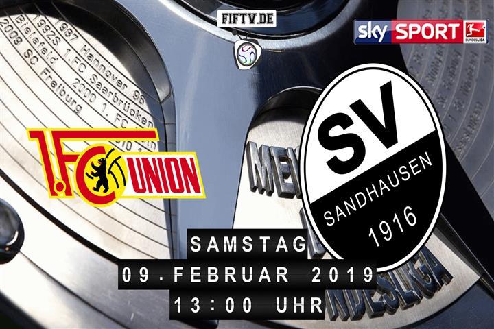 Union Berlin - SV Sandhausen Spielankündigung