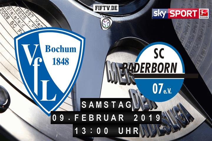 VfL Bochum - SC Paderborn 07 Spielankündigung