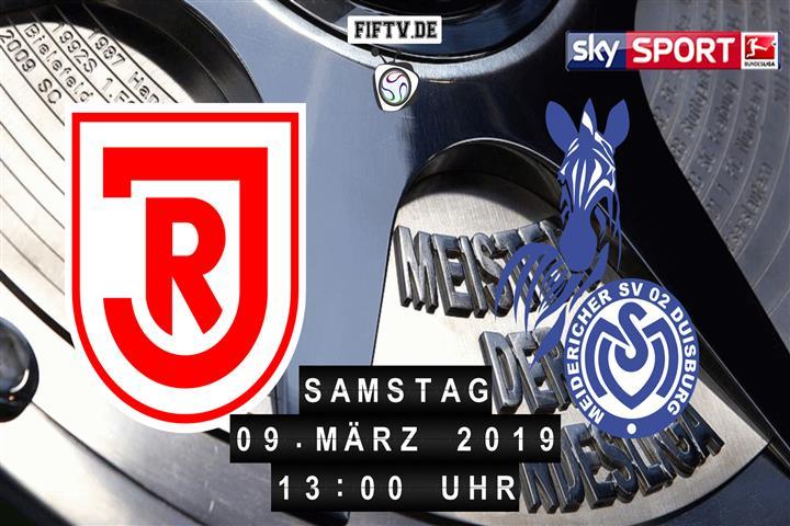 Jahn Regensburg - MSV Duisburg Spielankündigung