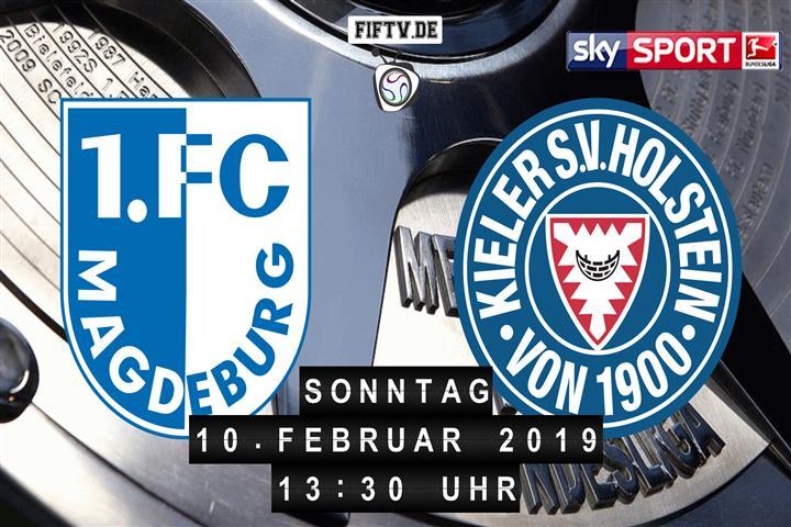 1.FC Magdeburg - Holstein Kiel Spielankündigung