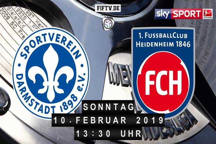 Darmstadt 98 - 1.FC Heidenheim Spielankündigung