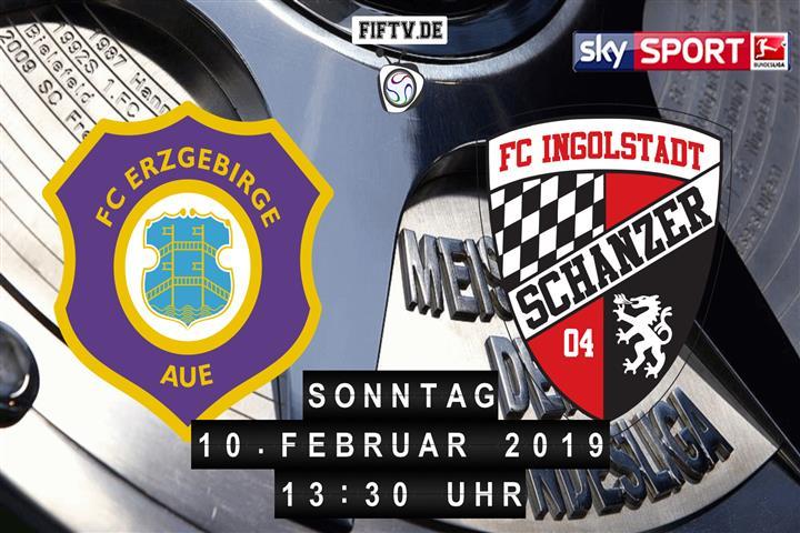 Erzgebirge Aue - FC Ingolstadt Spielankündigung