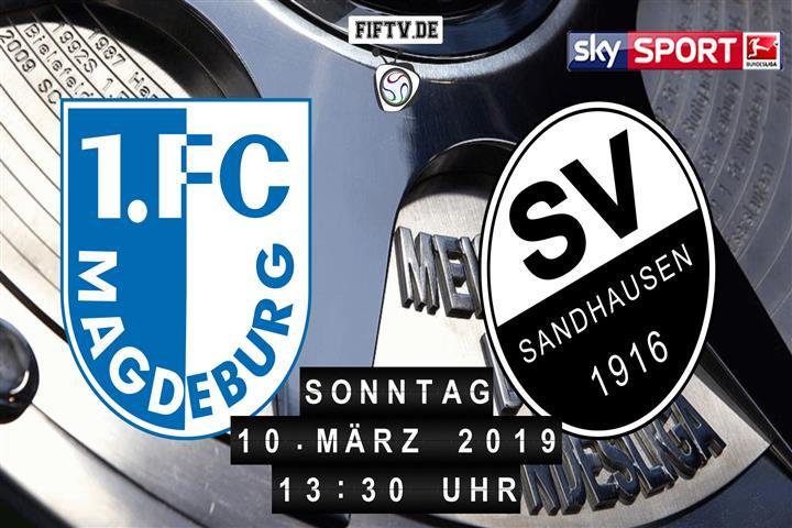 1.FC Magdeburg - SV Sandhausen Spielankündigung