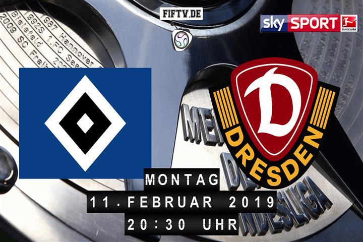 Hamburger SV - Dynamo Dresden Spielankündigung