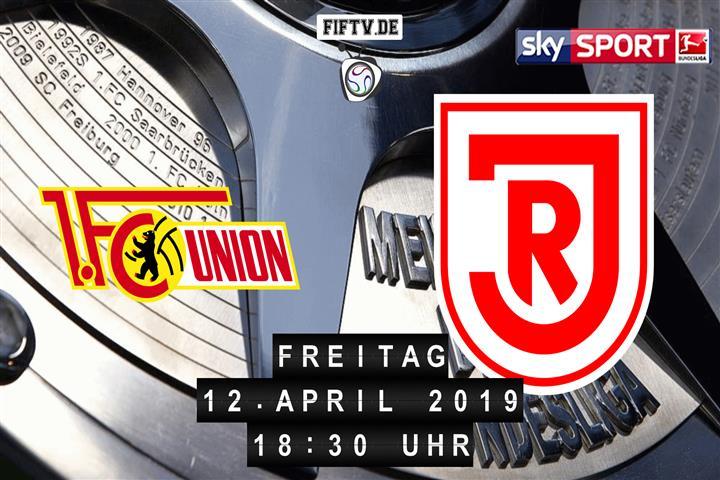 Union Berlin - Jahn Regensburg Spielankündigung