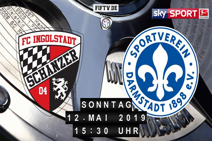 FC Ingolstadt - Darmstadt 98 Spielankündigung