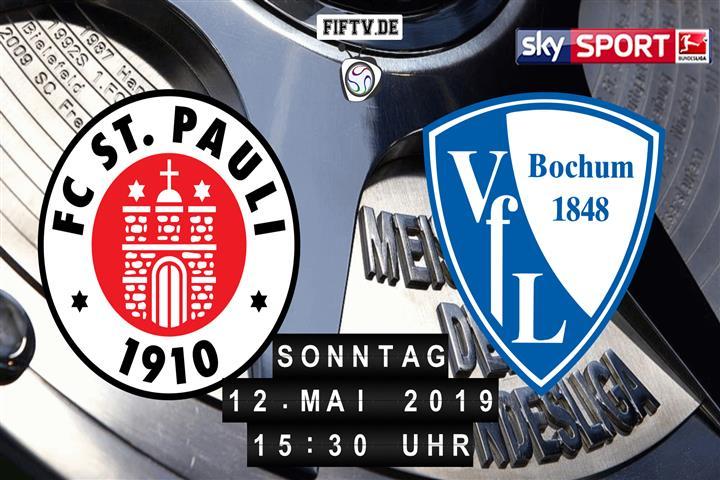 FC St. Pauli - VfL Bochum Spielankündigung