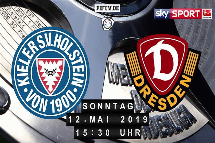 Holstein Kiel - Dynamo Dresden Spielankündigung
