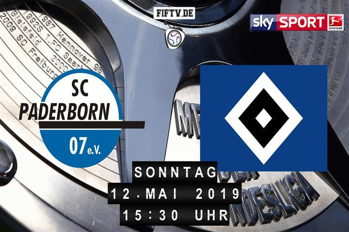 SC Paderborn 07 - Hamburger SV Spielankündigung