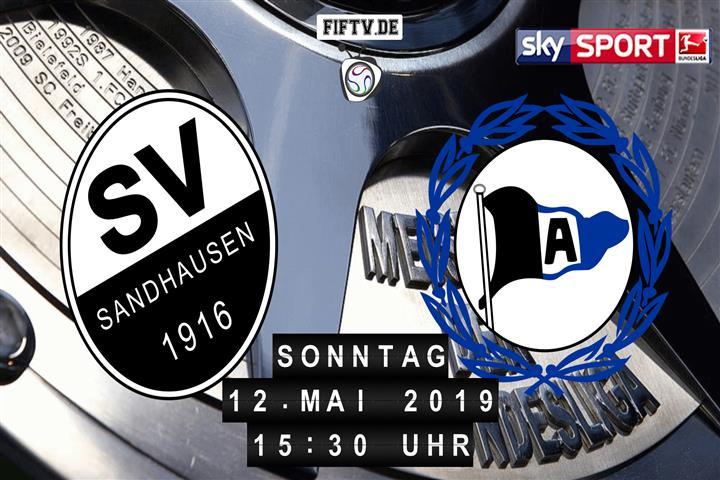 SV Sandhausen - Arminia Bielefeld Spielankündigung