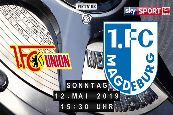 Union Berlin - 1.FC Magdeburg Spielankündigung