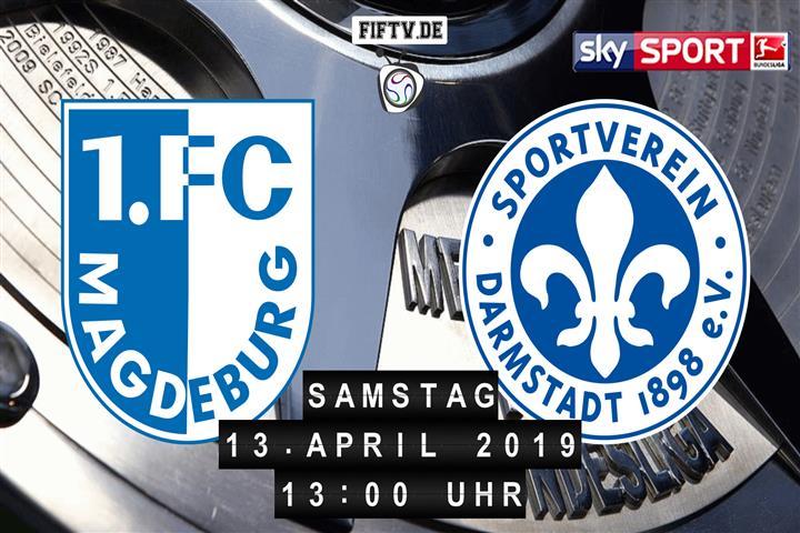 1.FC Magdeburg - Darmstadt 98 Spielankündigung