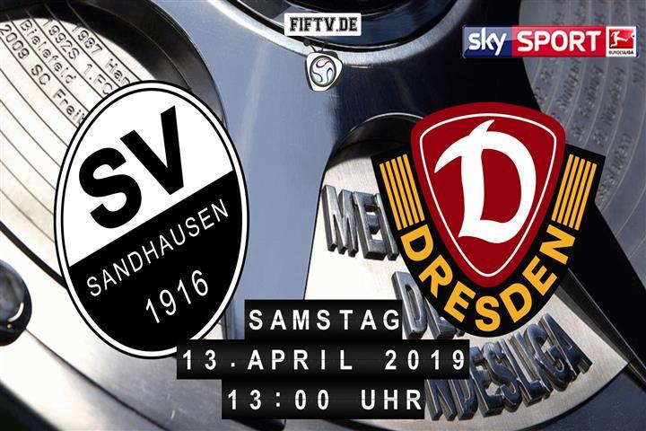 SV Sandhausen - Dynamo Dresden Spielankündigung