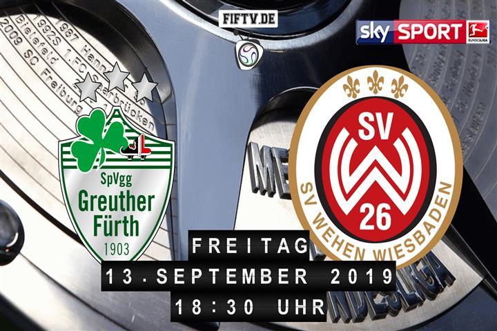 SpVgg Greuther Fürth - SV Wehen Wiesbaden Spielankündigung