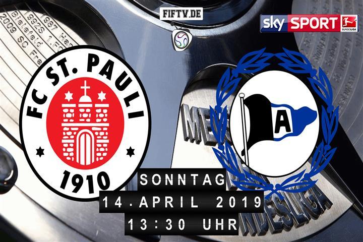FC St. Pauli - Arminia Bielefeld Spielankündigung