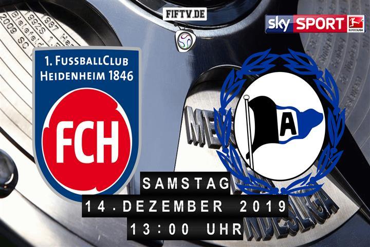 1.FC Heidenheim - Arminia Bielefeld Spielankündigung