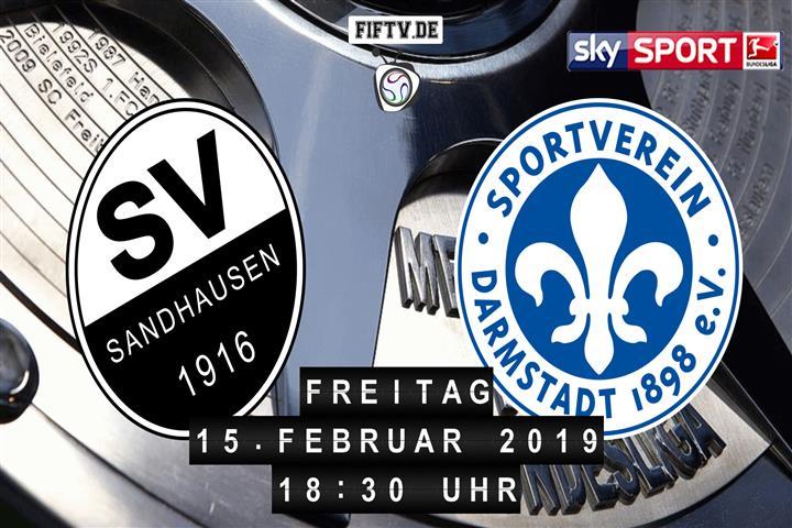 SV Sandhausen - Darmstadt 98 Spielankündigung