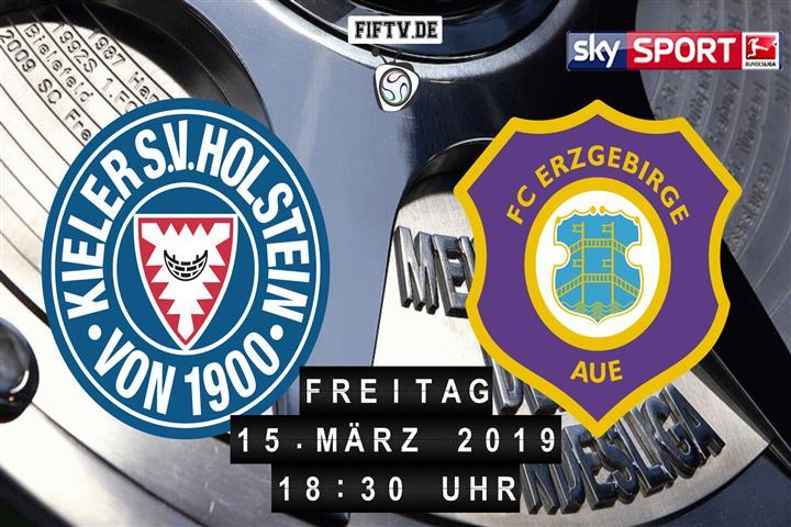 Holstein Kiel - Erzgebirge Aue Spielankündigung