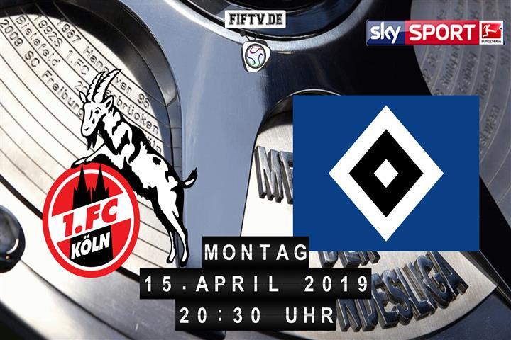 1.FC Köln - Hamburger SV Spielankündigung