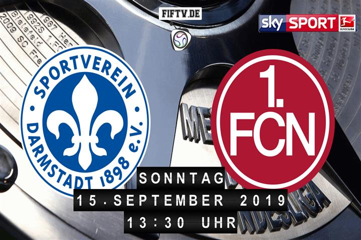 Darmstadt 98 - 1.FC Nürnberg Spielankündigung