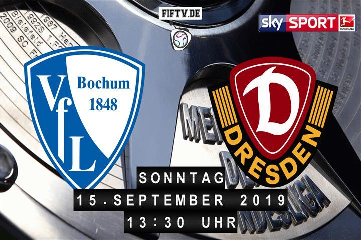 VfL Bochum - Dynamo Dresden Spielankündigung