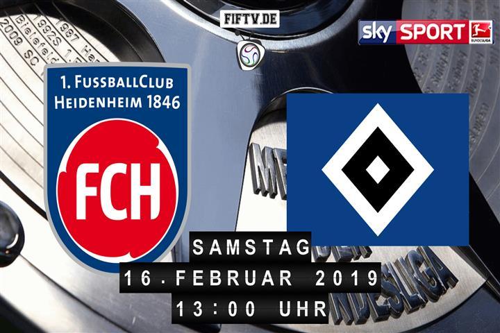 1.FC Heidenheim - Hamburger SV Spielankündigung