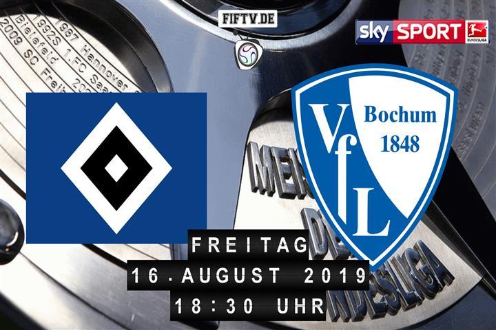 Hamburger SV - VfL Bochum Spielankündigung