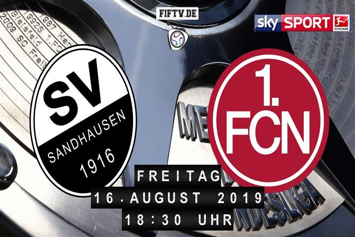 SV Sandhausen - 1.FC Nürnberg Spielankündigung
